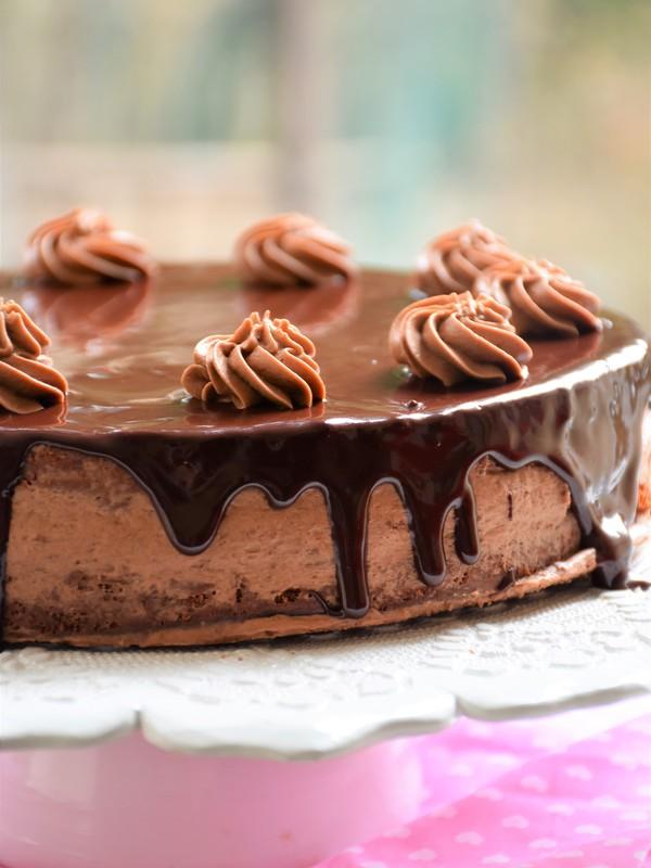 Schokoladetorte Mit Buttercremefullung Fructosefrei Fructosefreie