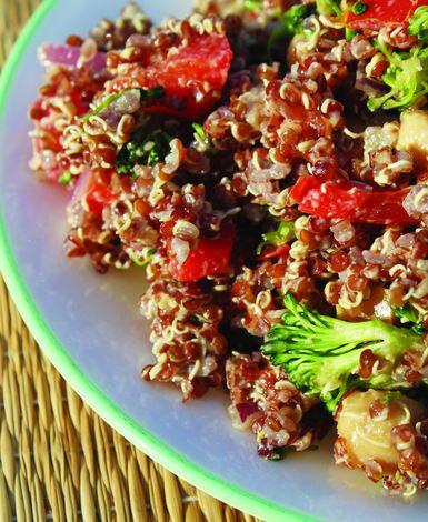 zitronen tahini quinoa salat kochen kochen rezepte salate rezepte. Black Bedroom Furniture Sets. Home Design Ideas