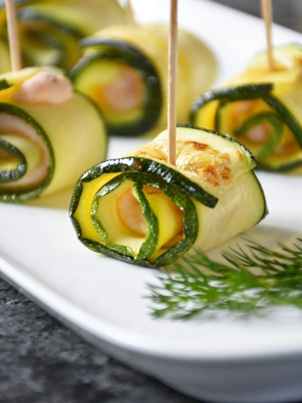 zucchini lachs r llchen kochen kochen rezepte partysnacks rezepte. Black Bedroom Furniture Sets. Home Design Ideas