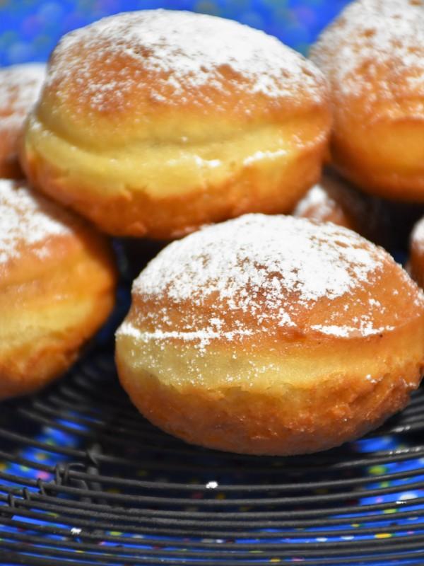 Faschingskrapfen Ohne Milch Kochen Kochen Rezepte Kuchen Rezepte