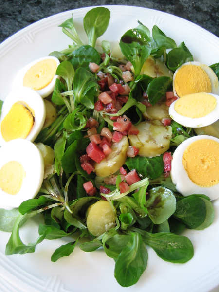 kartoffel vogerlsalat fructosefrei fructosefreie rezepte salate rezepte. Black Bedroom Furniture Sets. Home Design Ideas