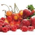 Obst mit Sukrin